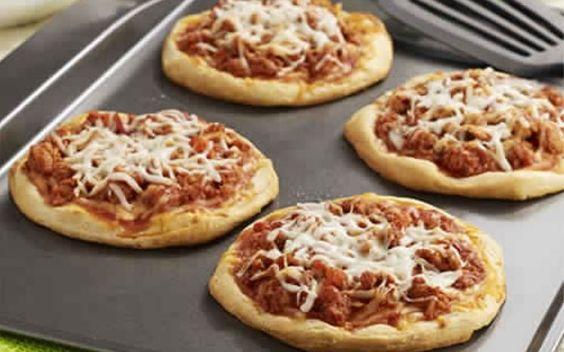 Sloppy Joe Mini Pizzas – Weight Watchers Recipes
