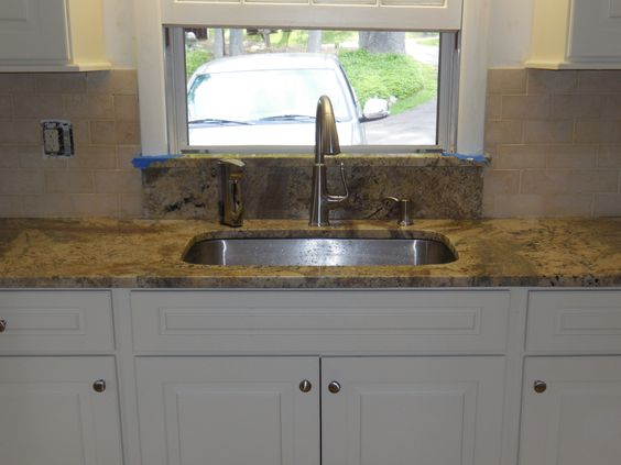 Sill Granite Sink : Window sill, Undermount kitchen sink and Sinks on Pinterest