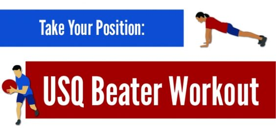#workout for beaters from US #Quidditch