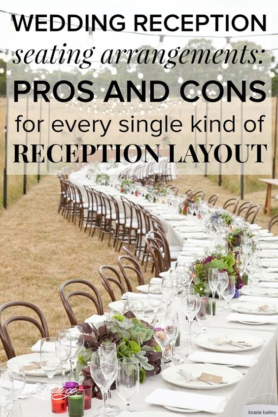 assigned seating at weddings pros and cons