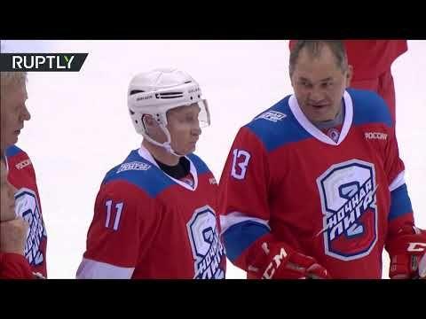 Putin Scores 10 Goals In Night Hockey League Match In Sochi Https Www Youtube Com Watch V Hiqfze2uhta Sochi League Hockey