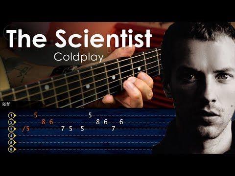 The Scientist Guitar Tab Guitarra Tutorial Acordes Tab