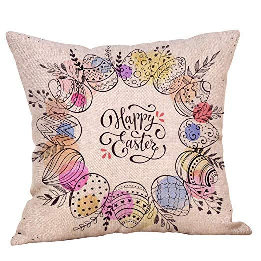 easter pillow covers 18x18 easter
