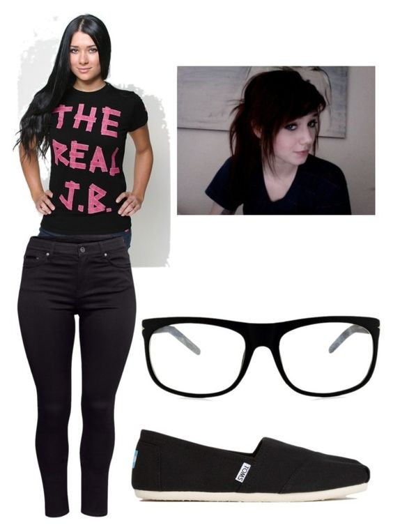 """""""Someone i know saw this shirt, and now she thinks i like Justin Bieber. *sigh*"""" by lfromdeathnote ❤ liked on Polyvore"""