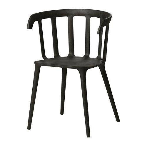 IKEA PS 2012 Chaise à accoudoirs IKEA Accoudoirs pour un plus grand confort d'assise. Dossier galbé pour un meilleur confort d'assise.