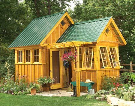 A beautiful english garden shed stuff i dig pinterest for English garden shed designs