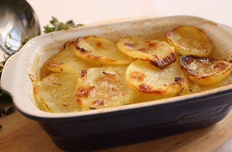 Potato Boulangere.