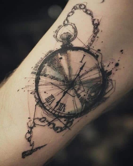 Clock Tattoos For Men Tattoo Uhr Armeltatowierungen Tattoo Designs