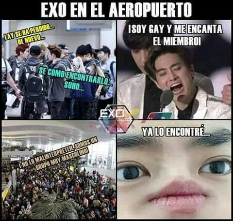 Memes De Exo ˏˋ16ˎˊ Con Imagenes Memes Memes Exo Exo