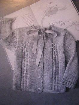 Knitting Patterns Modern Cardigan : Free knitting & crochet pattern - modern vintage - smocked ...