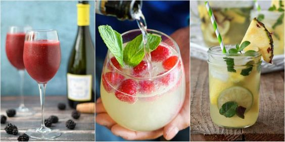Wine Cocktails Recipes - How to Make Wine Cocktails