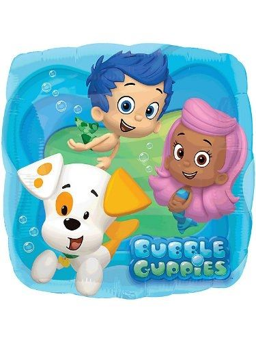 Bubble Guppies Standard Balloon by partygam