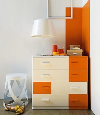 orange section