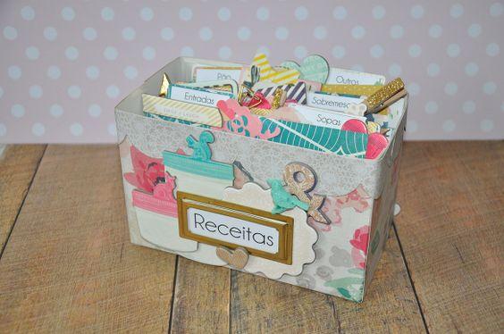 Caixa para Receitas * Recipe Box » Miss lacitos