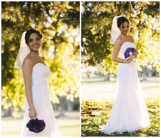 #Novia #Boda Hermosa Flor en el día de su boda By Bárbara Gonzalez.