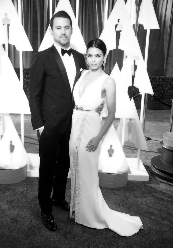 Pin for Later: Retour Sur les Meilleurs Moments des Oscars 2015 Channing et Jenna Dewan Tatum