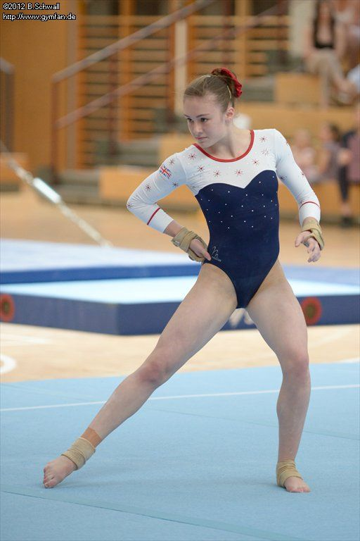 Ruby Harrold gymnastics age