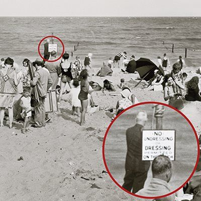 ¡Prohibido desnudarse en la playa! - http://paraentretener.com/prohibido-desnudarse-en-la-playa/