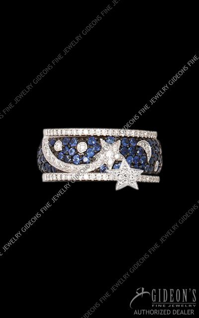 Moon And Stars Ring Hildalgo