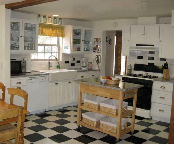 Cottage Kitchen Makeover On A Budget Goodbye 1970s Melamine Hello Gorgeous