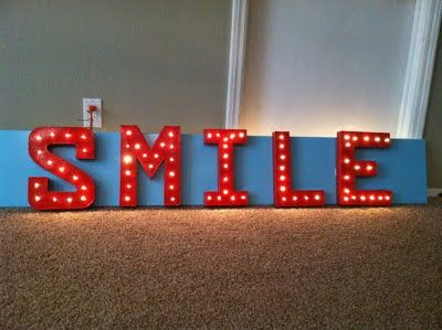 DIY Vintage Sign For Photo booth/ Party