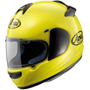 Arai Vector-2 Helmet in High-Visibility Fluorescent Yellow at Revzilla