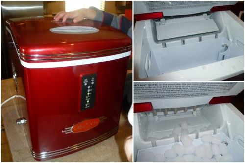 Nostalgia Electrics Countertop Ice Maker! #Home #Appliance