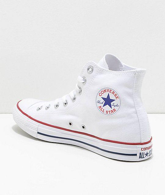 converse high top blancas
