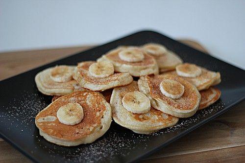Bananenpancakes