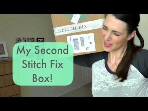 My Second Stitch Fix Box