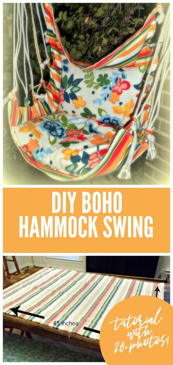 Making-your-own-boho-hammock-swing