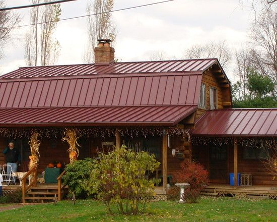 Standing seam metal roof gambrel google search metal for Gambrel roof metal building