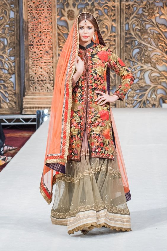 Pakistani #Bridal #lengha #gown #outfit #Ayesha Aejaz