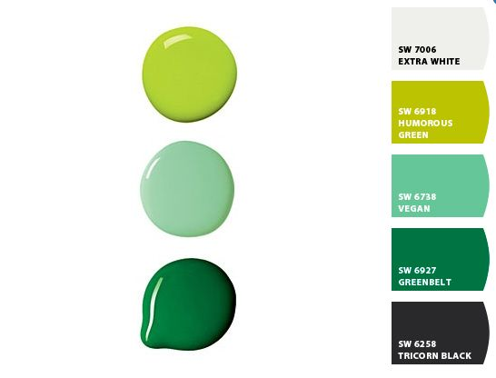 Some Close Facsimiles Of Pantone 39 S Tender Shoots Greyed Jade And Emerald