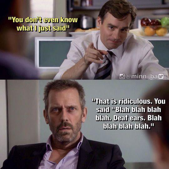 Blah, blah, blah...
