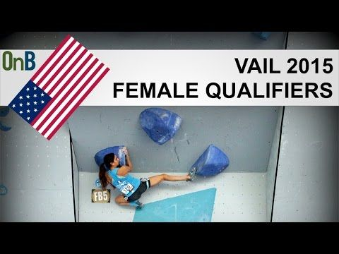 2015 Vail Bouldering World Cup – Qualifiers