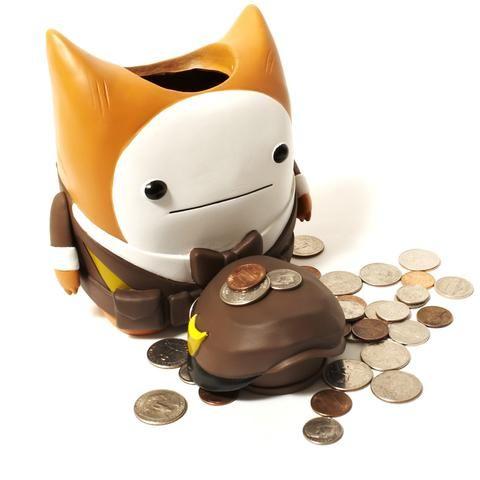 Cat Guard Piggy Bank Piggy Bank Cats The Incredibles