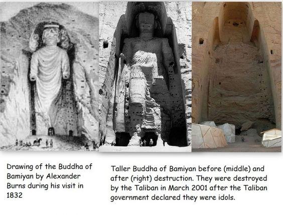 """Résultat de recherche d'images pour """"destruction de statues bouddha"""""""