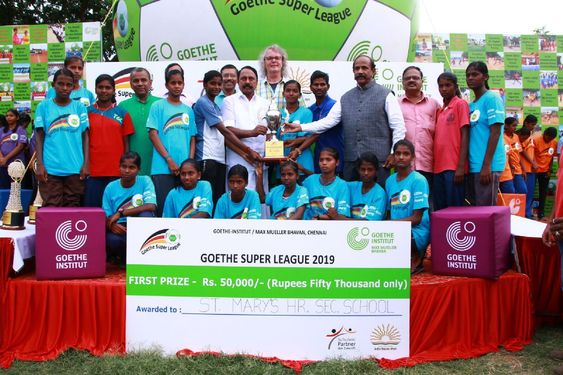 "Goethe-Institut ""Goethe Super League"" Award and Felicitation Ceremony"