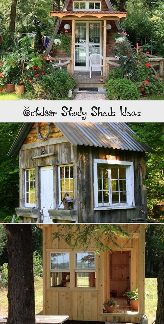 Outdoor Study Sheds Ideas Easy Diy And Crafts Gardenroom In 2020 Garden Room Shed Outdoor Sheds