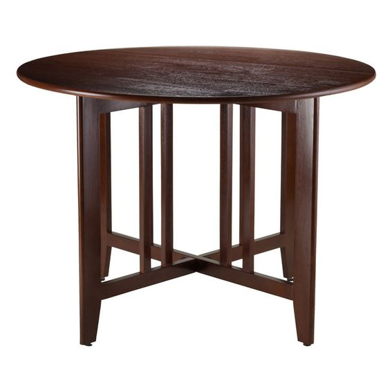 Alamo, Mission Side Round Drop Leaf Table Has A Traditional Style That Is  Updated With Modern Durability. The Perfect Piece For Kitchen Or Dining.
