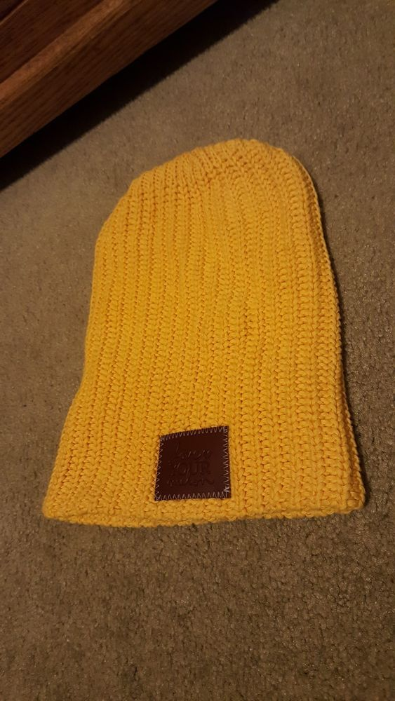 Love Your Melon beanie yellow  fashion  clothing  shoes  accessories   unisexclothingshoesaccs  unisexaccessories (ebay link) 1bc90a6e1ef