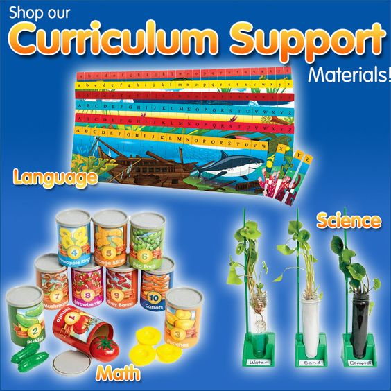 Shop our curriculum support items today!