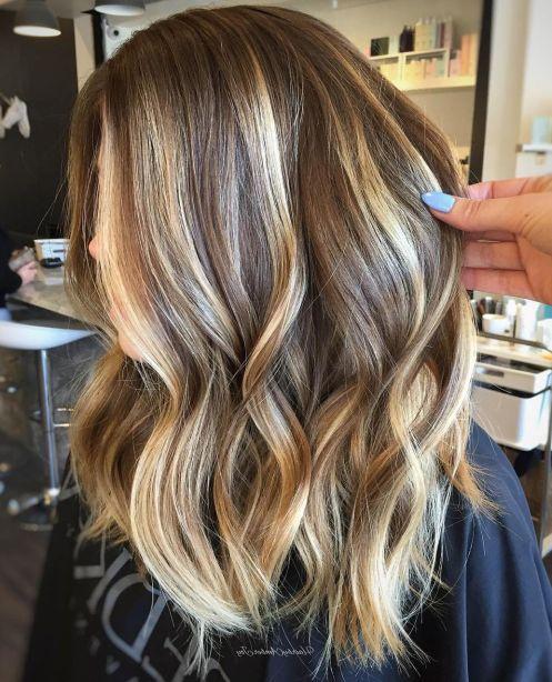 70 Wundervolle Frisuren Fur Mittellanges Haar Hair Styles Brown Blonde Hair Balayage Hair