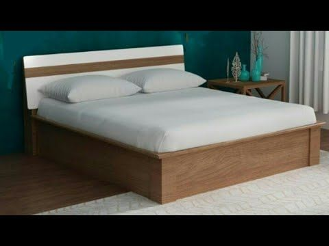 Wooden Double Bed Ideas Room Furniture Designs Indian Bed Ideas Youtube Bed Designs With Storage Wooden Bed Design Simple Bed Designs