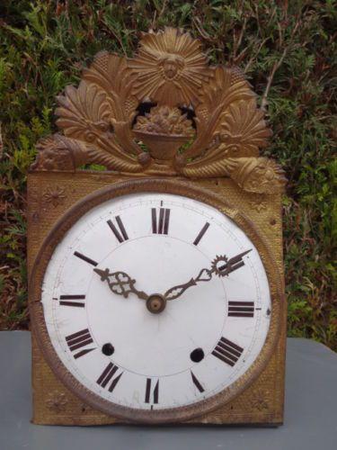 mouvement ancien de comtoise pendule horloge de parquet. Black Bedroom Furniture Sets. Home Design Ideas