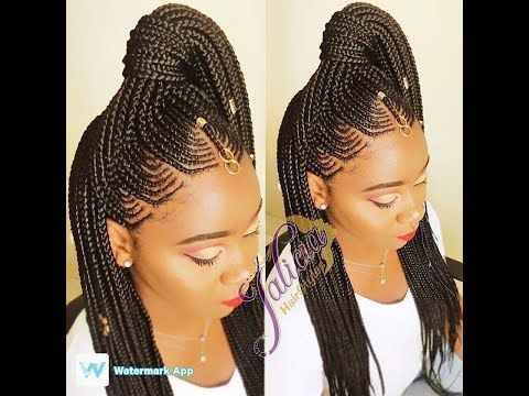 14 Freestyle Braiding Individuals Cornrows Tribal Accessories Youtube Hair Styles African Hair Braiding Styles Braided Hairstyles