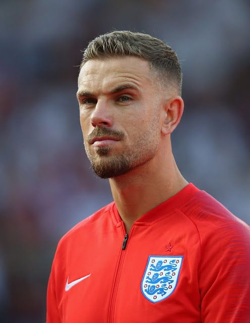 Latest Football News Jordan Henderson England S New Midfield Dynamo Soccer Player Hairstyles Soccer Players Haircuts Football Hairstyles