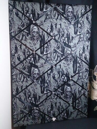 Latest board in cool zombie fabric :)