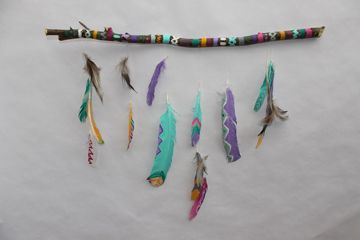 Pinterest the world s catalog of ideas for Easy native american crafts